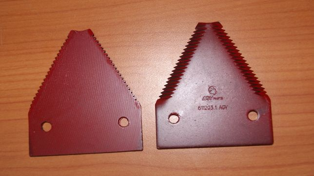 Nożyk kosy kombajn Claas 611203 Górnonacinany Gruby ząb