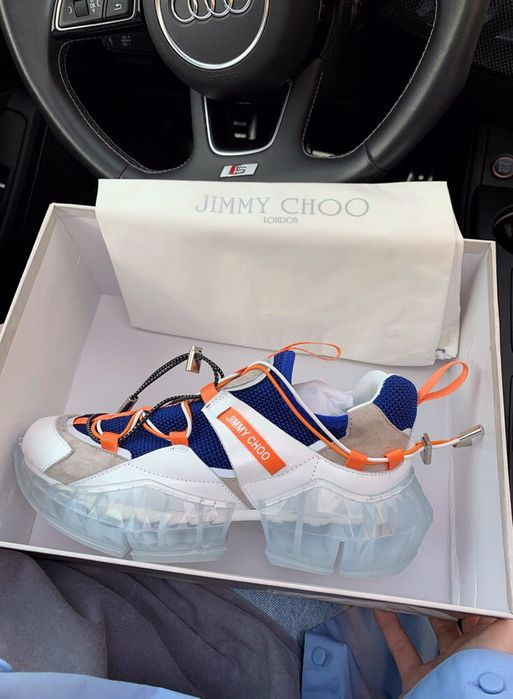 Buty Jimmy Choo 36-40 damskie trampki sneakersy Warszawa - image 1