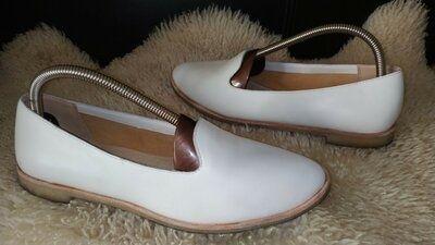 Clarks туфлі лофери кожа