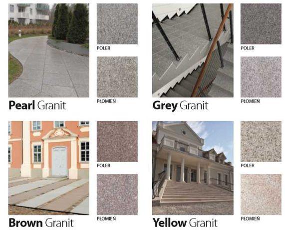 PŁYTA KAMIENNA granit stopień na taras NA ZEWNĄTRZ granitowa naturalny