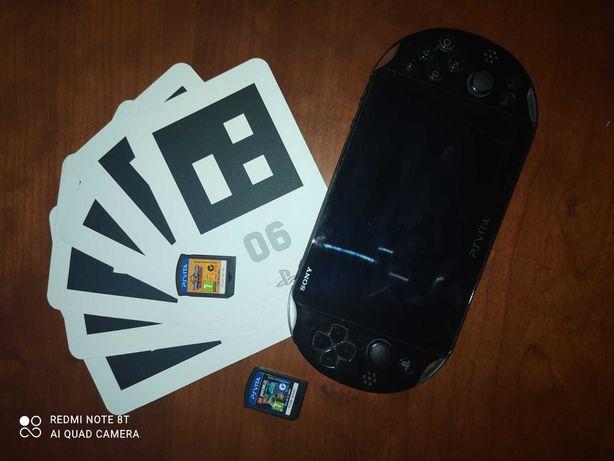 PS Vita Slim + 2 Jogos