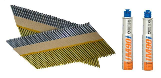 Gwoździe PASLODE 3,1x90 mm GŁADKIE DO IM90ci 100ci FV 23%