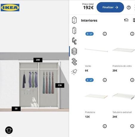 IKEA Roupeiro Pax branco