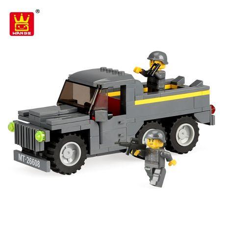 Конструктор грузовик джип. Аналог Lego Лего. Wange. Игрушка