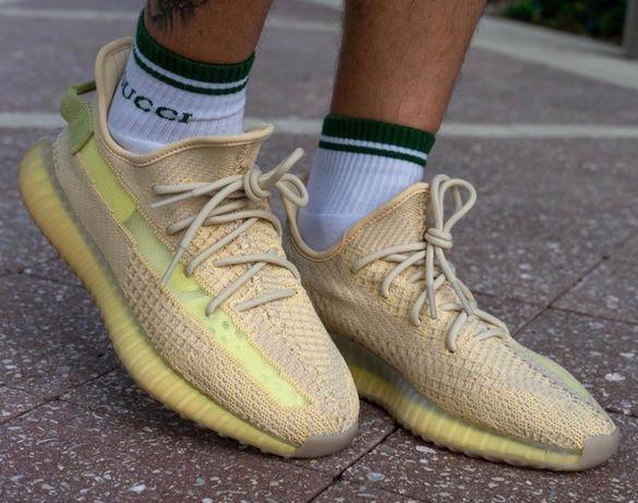 Adidas  Yeezy Boost 350 V2 • Flax •  Original Изи буст