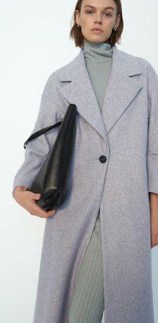 Płaszcz Zara szary oversize Xs