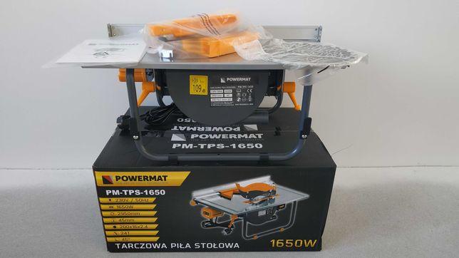 pilarka stołowa krajzega piła POWERMAT PM-TPS-1650