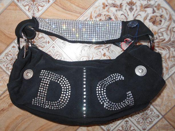 Гламурна замшева сумка з Італії для справжніх модниць