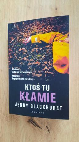 Jenny Blackhurst Ktoś tu kłamie