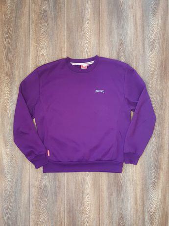 Свитшот кофта Slazenger слазенгер фиолетовый