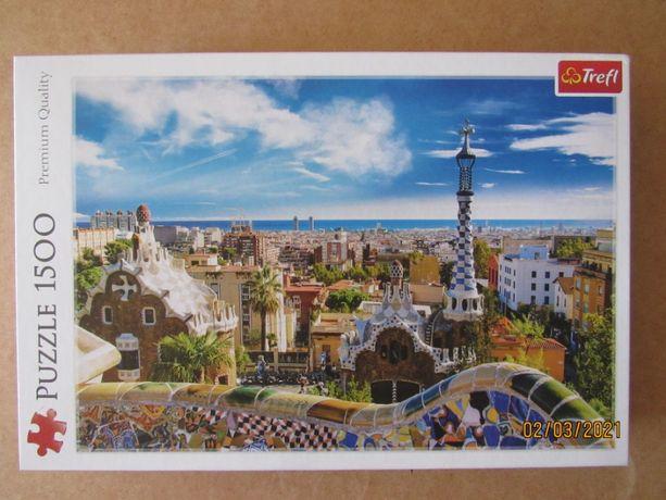 Park Guell Barcelona - Puzzle Trefl 1500 sztuk nr 26147