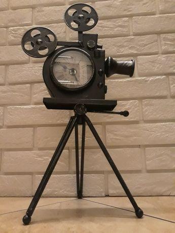 Zegar dekoracyjny KAMERA na stojkaku !!!
