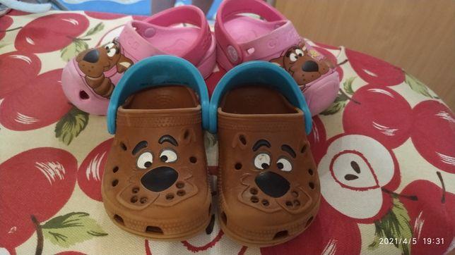 Детские crocs для девочек и мальчиков