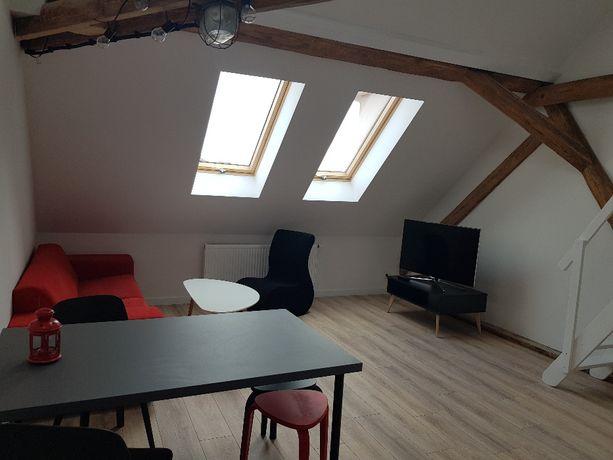 Piękne mieszkanie dwupoziomowe, 55m, nowe, pełne wyposażenie