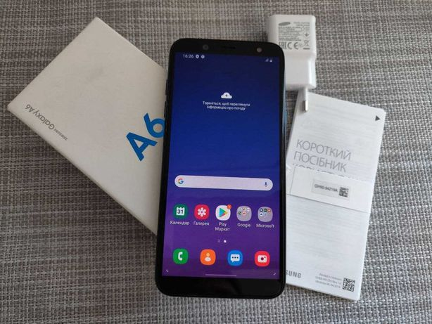 Samsung A6  (3/32 Гб) 5.6 Amoled, NFC