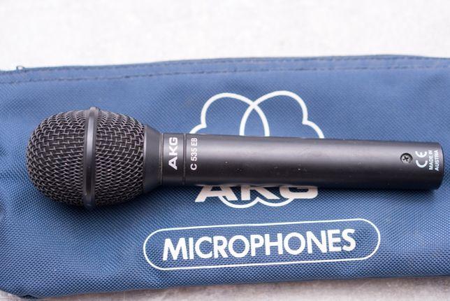 Mikrofon pojemnościowy studyjny wokalny AKG C535 EB