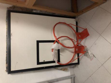 Tabela + cesto basquete