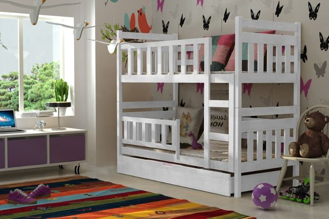 Piętrowe łóżko dla dzieci Staś 2! Pojemna szuflada! Kolory do wyboru
