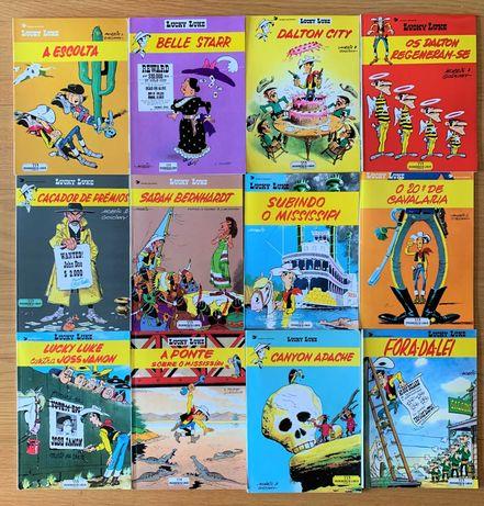 Lucky Luke, 24 volumes em bom estado!