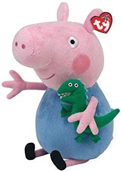 Свинка Джордж из мультфильма свинка Пеппа оригинал мягкая игрушка