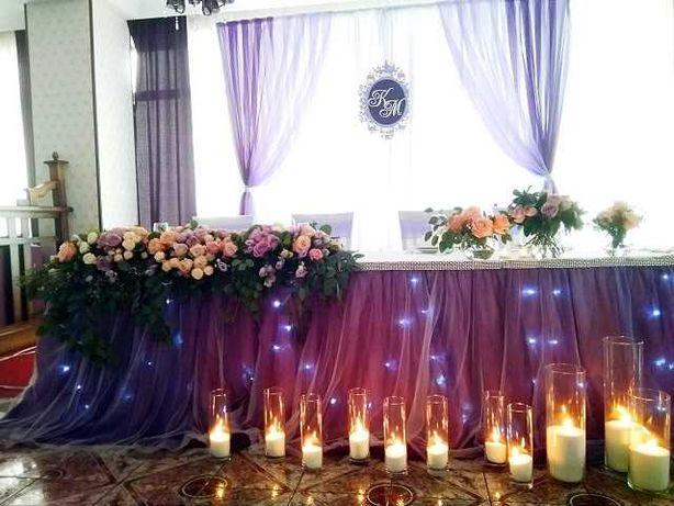 Свадебный декор. Выездная церемония. Аренда декора.