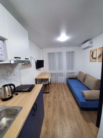 Современная квартира-студия в хорошем районе! Без комиссии!Долгострок