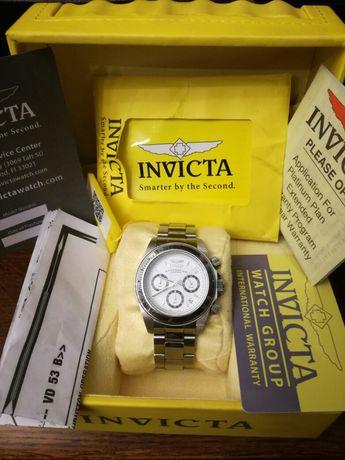 Sprzedam chronograph marki Invicta wodoszczelny 200m - pudełko,papiery