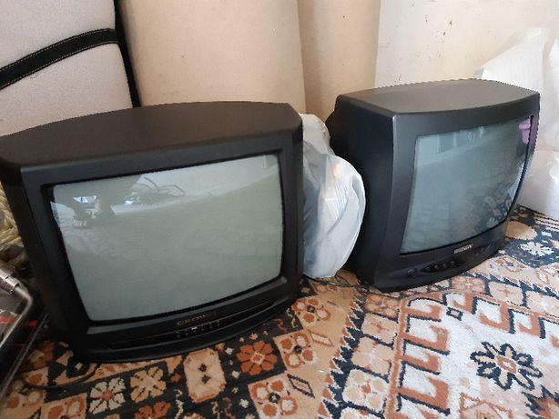 Telewizor, 2 telewizory 14 cali, sprawne