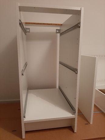 Komoda KNOXHULT (IKEA) - meble kuchenne (biały połysk)