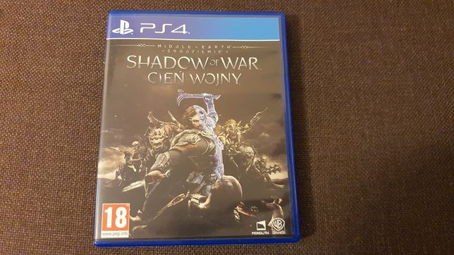 Śródziemie Cień Wojny (PS4) Stan idealny