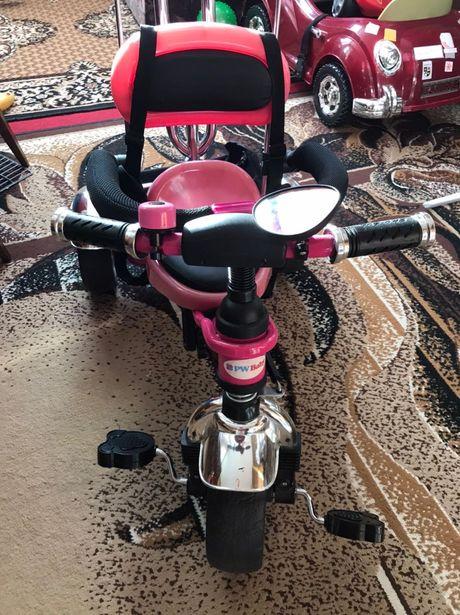 Rowerek trójkołowy różowy rowerek NA WIOSNĘ BĘDZIE DROŻEJ :)
