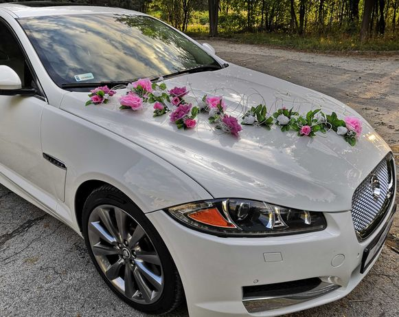 JAGUAR XF LUXURY auto do ślubu