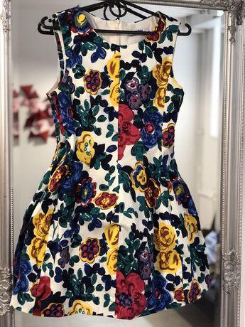 Плаття в квіти, платье в цветы