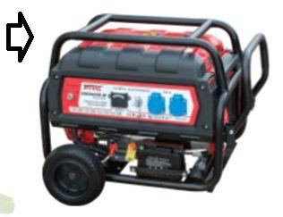 GM3500E-M Gerador eléctrico 3,5 kWA