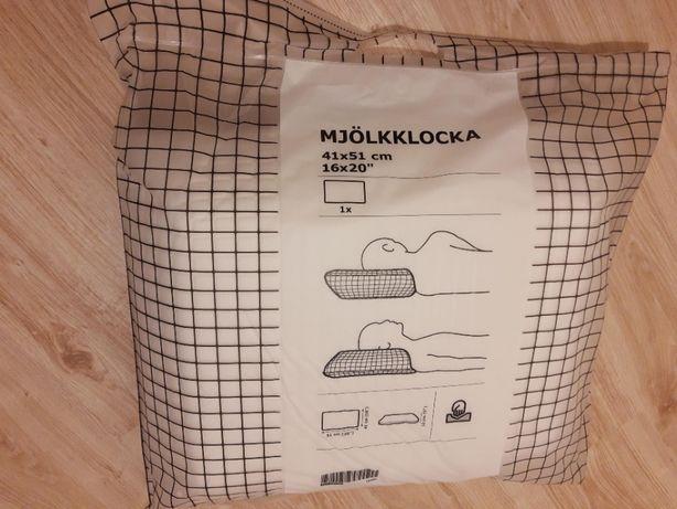 Poduszka ergonomiczna MJÖLKKLOCKA z IKEA (spanie na plecach i na boku)