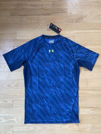 Koszulka sportowa kompresyjna Under Armour Blue
