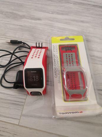 Zegarek, bieganie, sportowy, TomTom Runner Cardio GPS