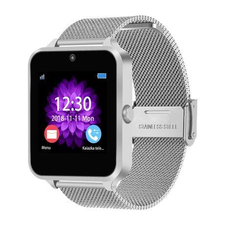 Smartwatch z60 bracelete aço inoxidável