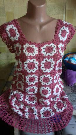 Платье ручная работа крючок