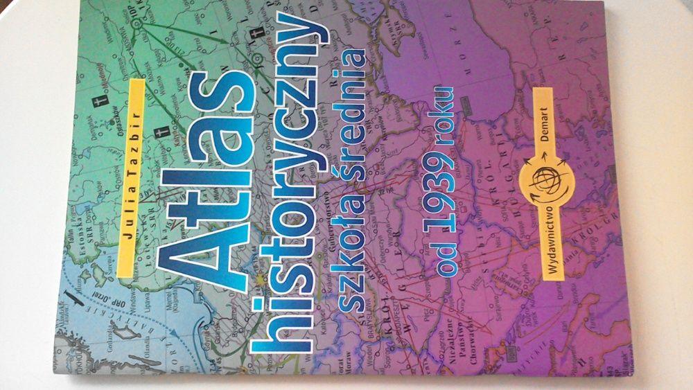 Julia Tazbir Atlas historyczny szkoła średnia od 1993 roku Bytom - image 1