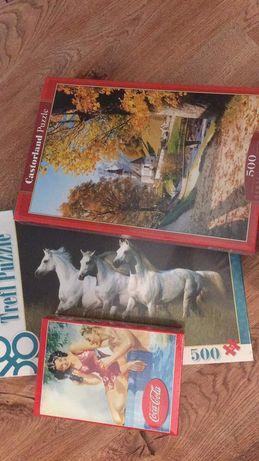 Nowe zafoliowane puzzle 500 60