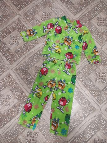Теплая махровая пижамка