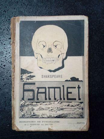 Livro antigo Hamlet 1913