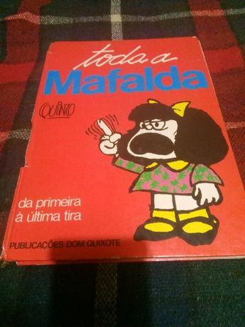 Livro de banda desenhada de Toda a Mafalda