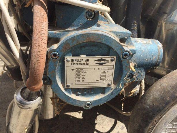 Електричний пристрій для доїння корів