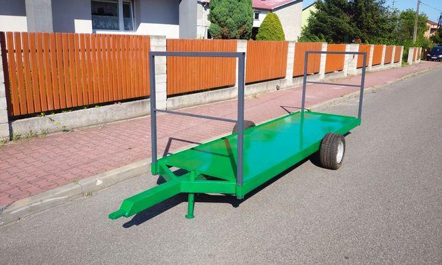 Wózek sadowniczy dwukółka platforma sadownicza