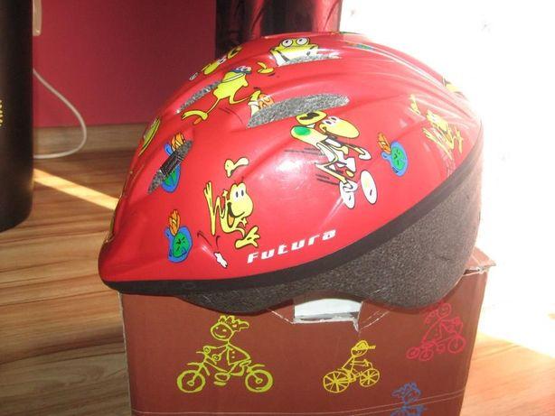 kask rowerowy dla chłopczyka
