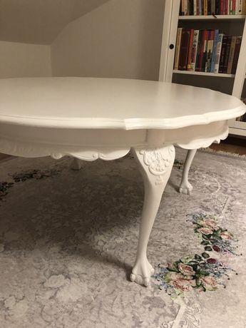 Stolik, stylowy biały
