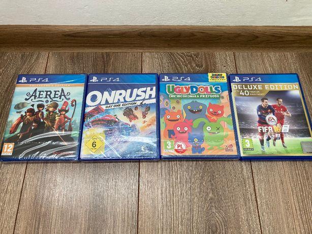 PS4 Oryginalne Gry na Sony Playstation 4 Nowe Folia Prezent Mikołaj