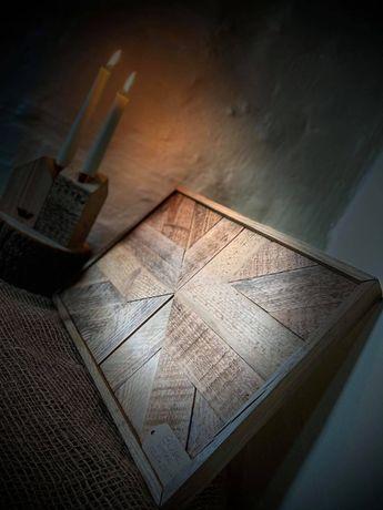 Obraz z drewna, drewniana mozaika, Drewniane obrazy Loft 36,5x25,5 cm